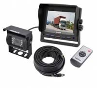 Rear view cameras for mobilhomes, boats, trailers and trucks