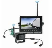 rear view camera horse trailer as set with monitor EM-703WD