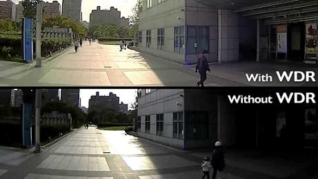 WDR für homogene Videoaufnahmen ohne dunkle Stellen
