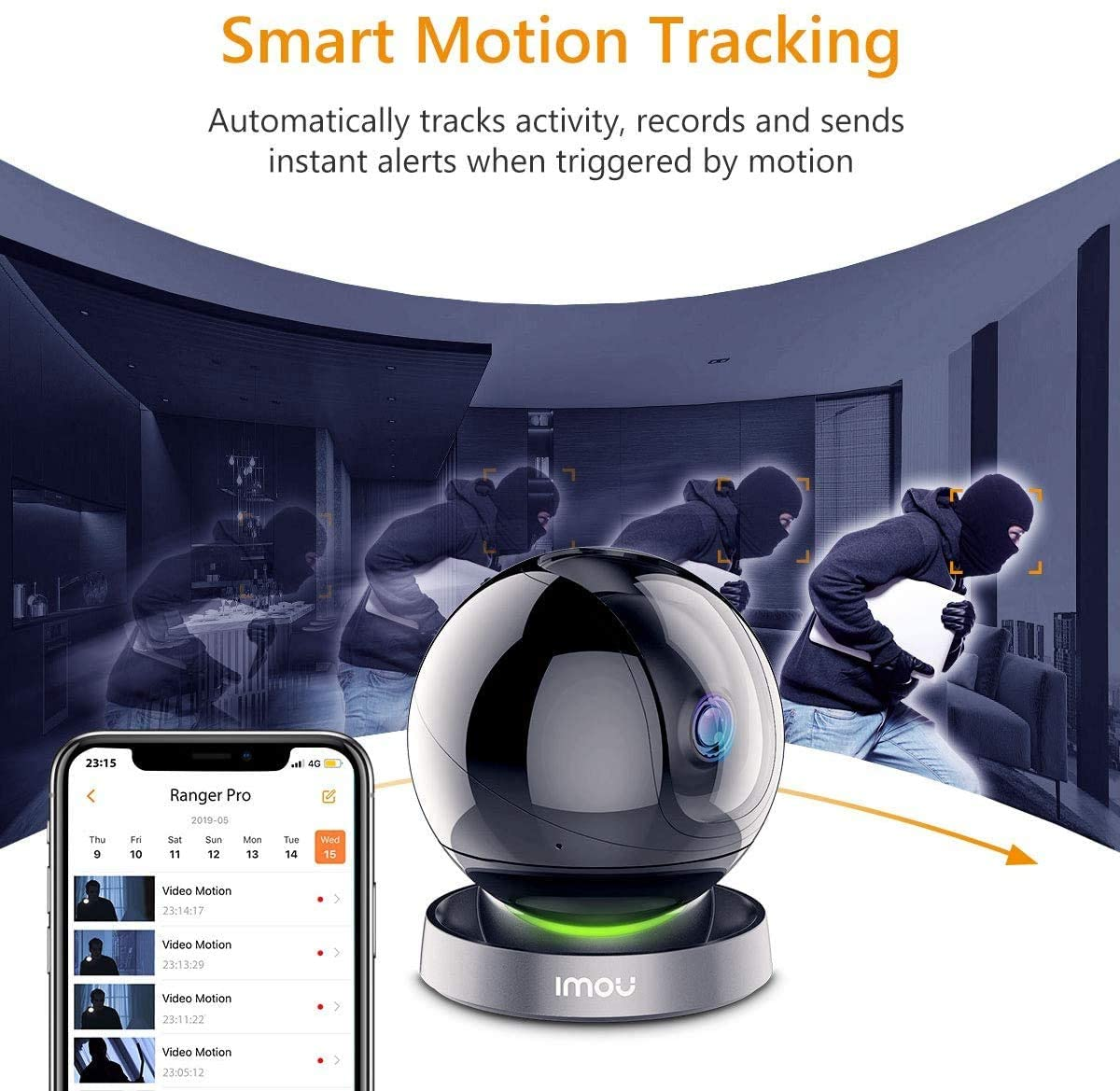 automatic tracking of objects