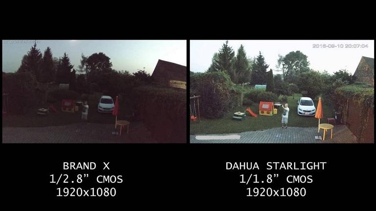 Starlight Sensor Dahua